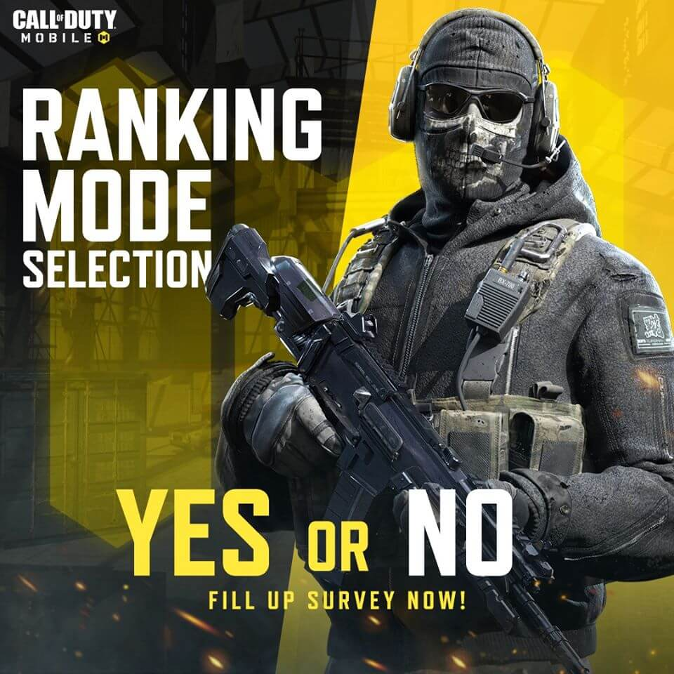 Call of Duty Mobile: Now Choose Your Own Game Mode In Ranked Lobby Too!