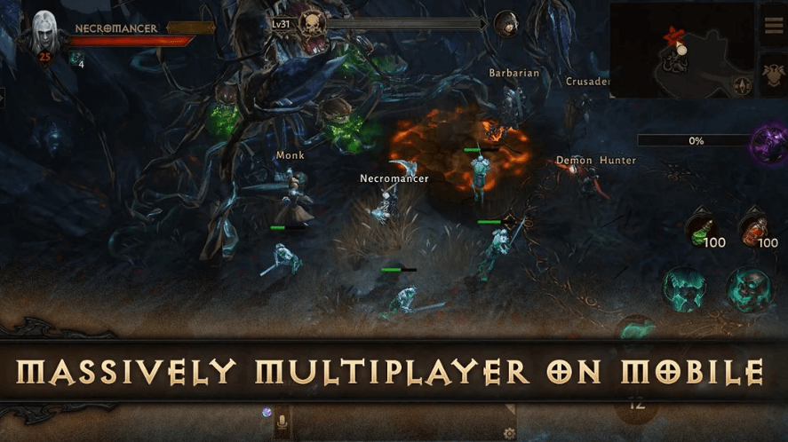 Diablo Immortal Will Be Available To Play In 2020 (Alpha Test) On Mobile Devices
