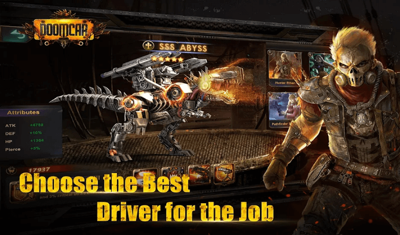 DoomCar Is A Strategy RPG Released Worldwide For Mobile Devices