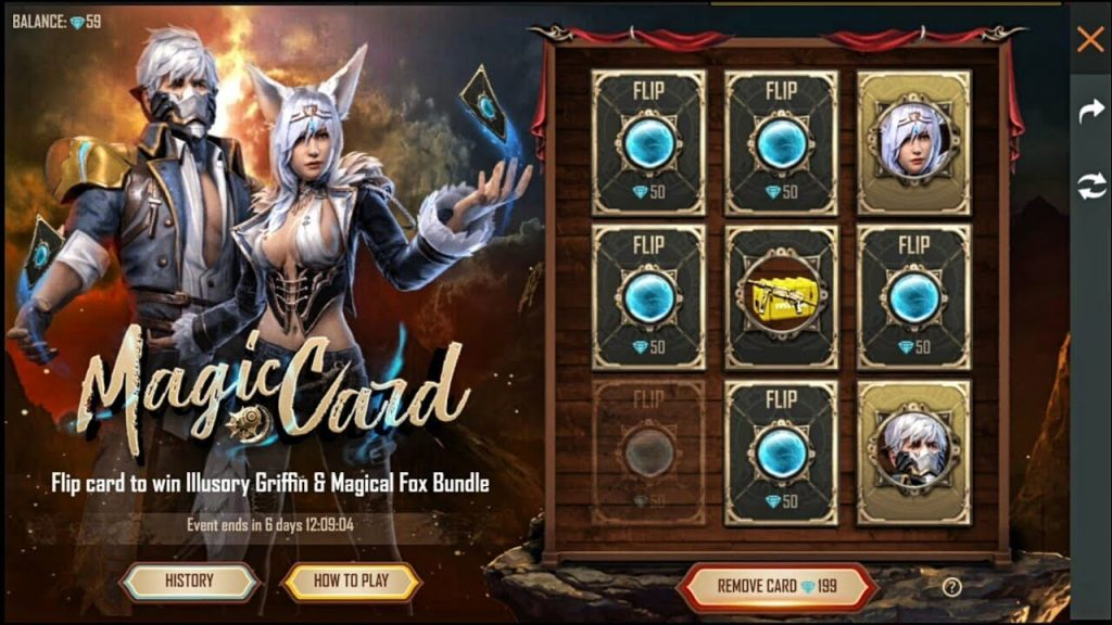 Garena Free Fire Magic Card Event Details