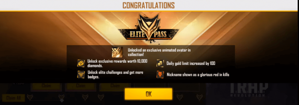 Free Fire Launched Season 21 Elite Pass Based On T.R.A.P. Revolution