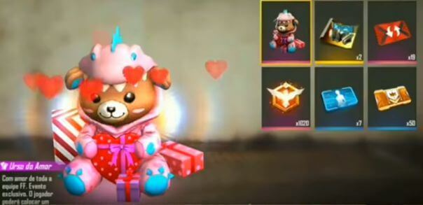 Free Fire Valentine's Party Event Complete Details