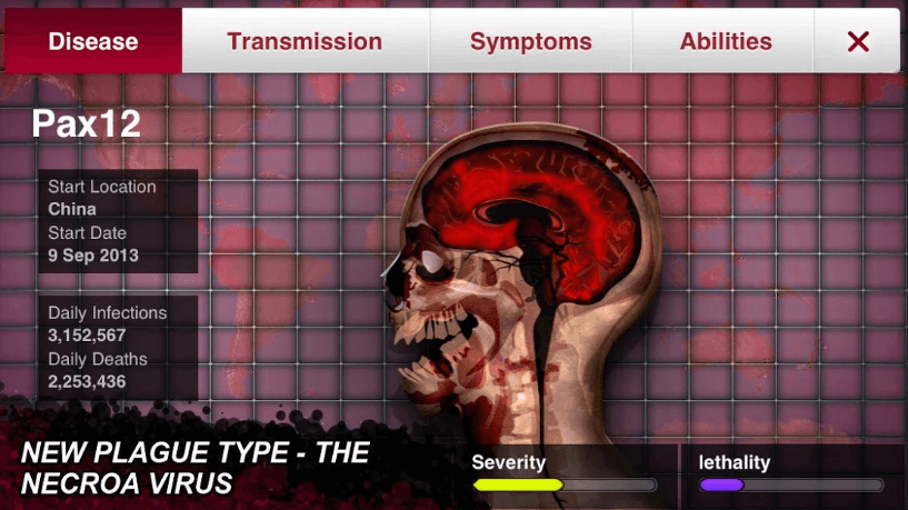 Strategy Simulation Game 'Plague Inc.' Has Been Removed From Chinese App Store
