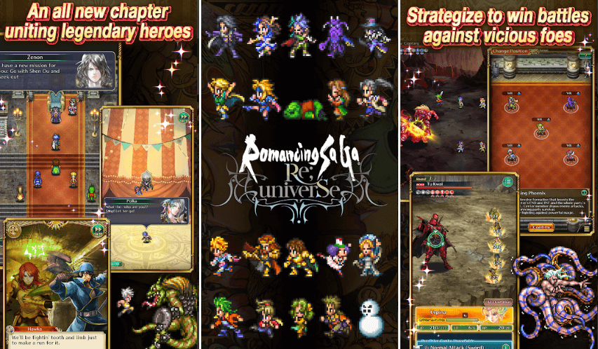 Romancing SaGa Re;UniverSe Global Pre-Registrations Have Been Started