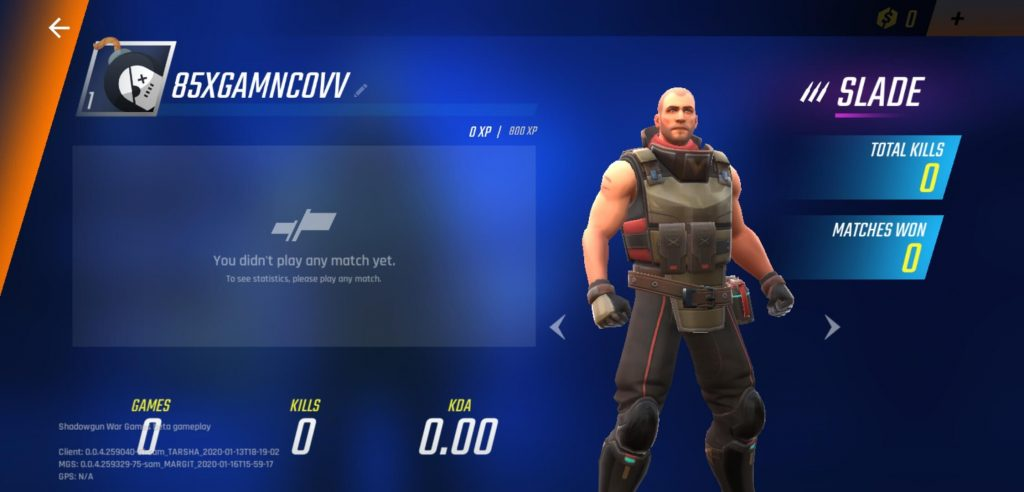 Shadowgun War Games Character System Explained
