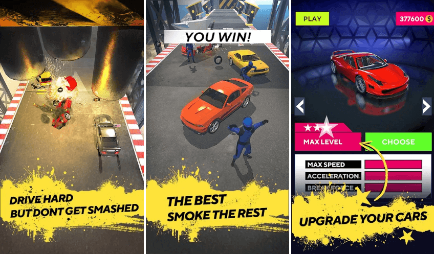 Smash Cars! By VOODOO - Game Review
