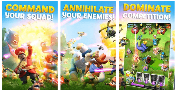 'World War Doh' Is A  New Real-Time Strategy Game By Jam City
