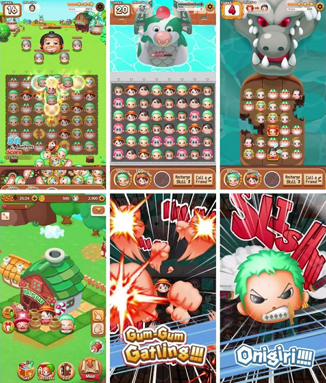 gameplay-de-One-Piece-Bon-Bon-Journey