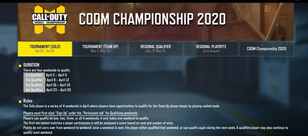 Call of Duty Mobile World Championship Get's Leaked