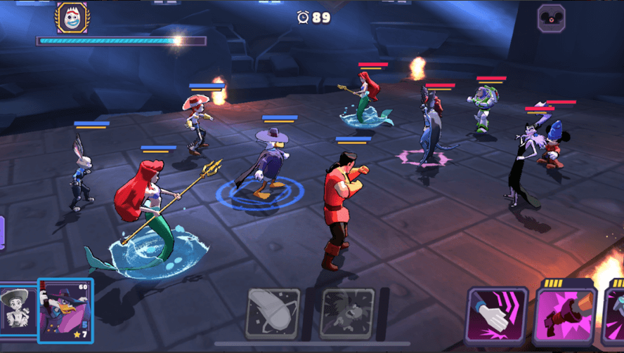 Glu Has Released Turn-Based RPG 'Disney Sorcerer's Arena' For Android & iOS Devices