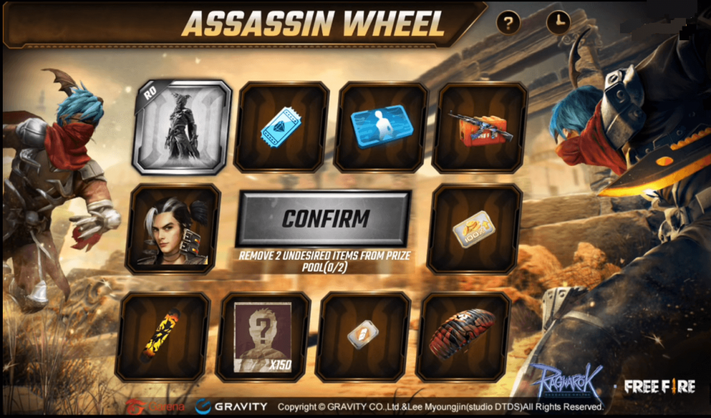 Free Fire Assassin Cross Faded Wheel Event Details: Should You Spin?
