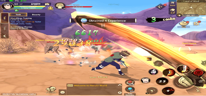 Minimum Requirements To Play Naruto: Slugfest On Mobile