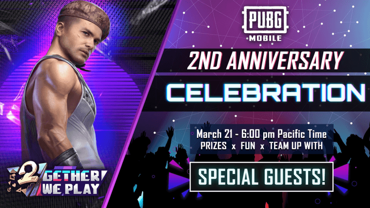 PUBG Mobile To Celebrate Its 2nd Anniversary Today