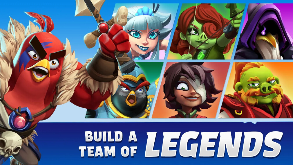 Angry Birds Legends opens for beta testing for Android
