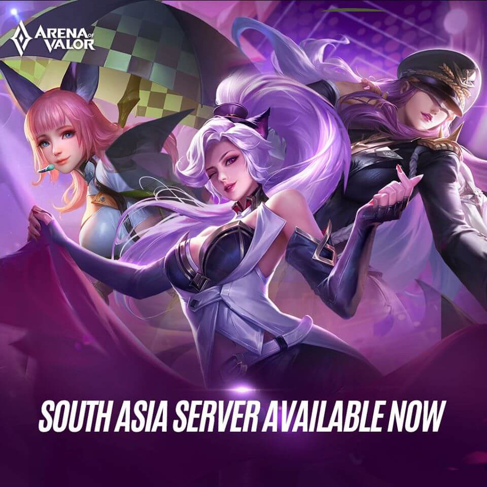 Arena of Valor: New South Asian Server is Now Live
