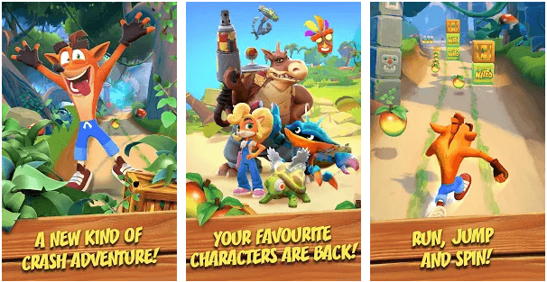 Crash Bandicoot Mobile - A New Mobile Endless Runner Game Soft Launched