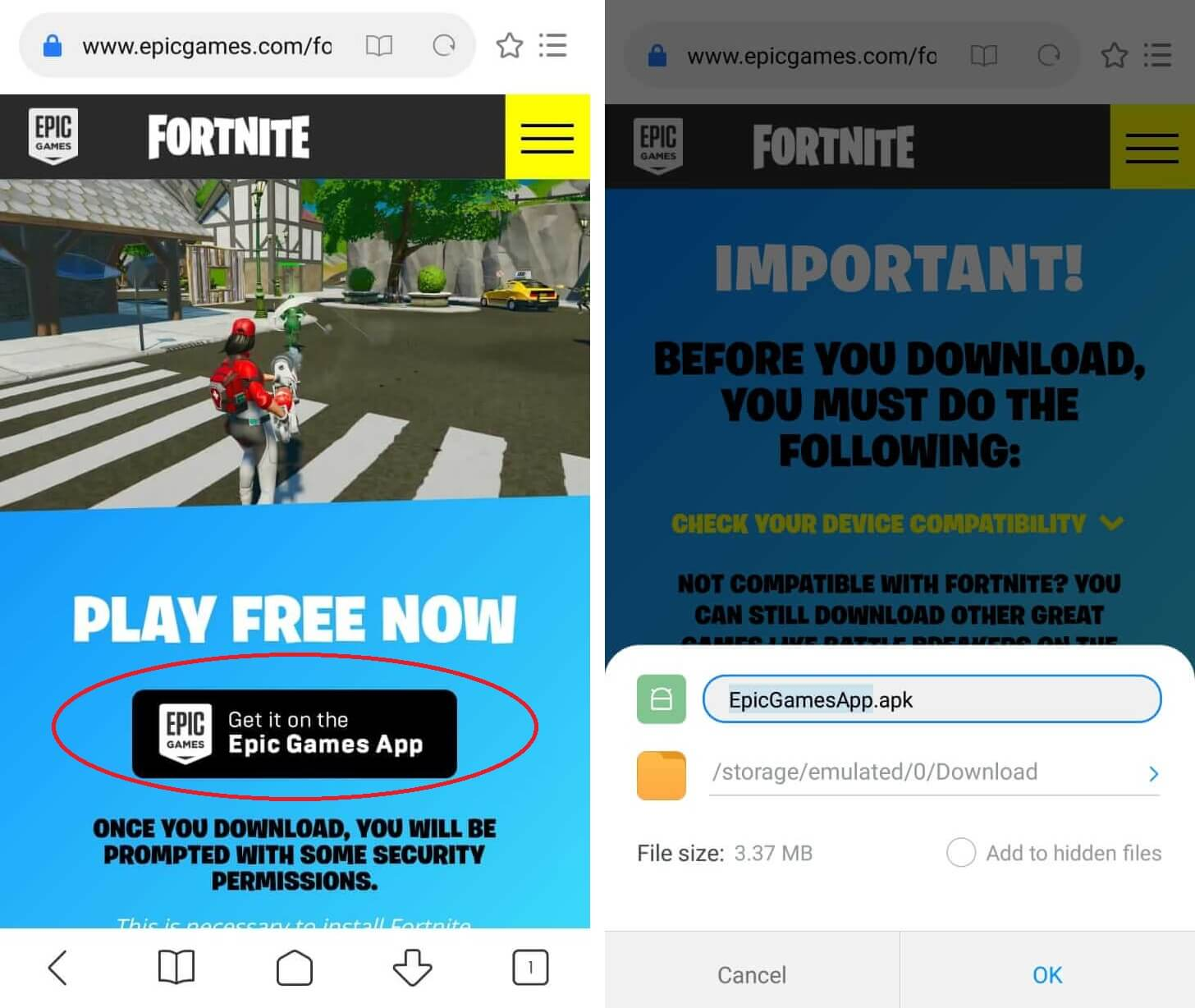 Here Is How To Download And Play Fortnite On Android & iOS Devices