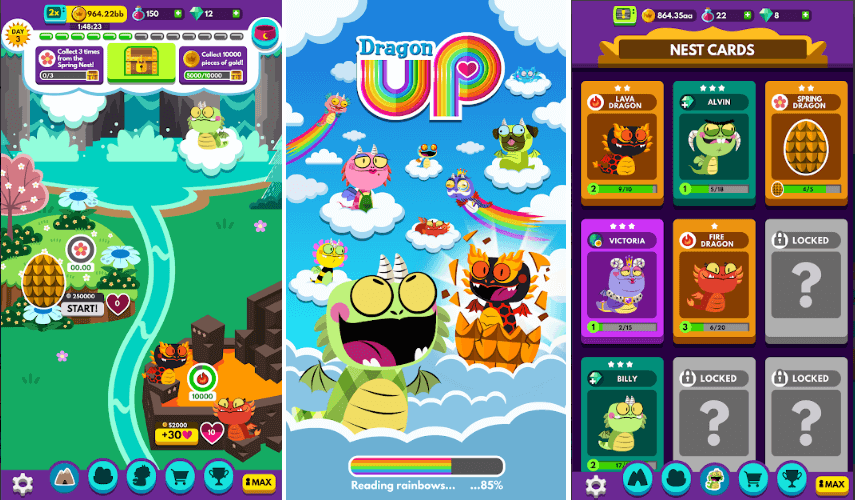 Dragon Up: Idle Adventure - Hatch Eggs Get Dragons - Game Review