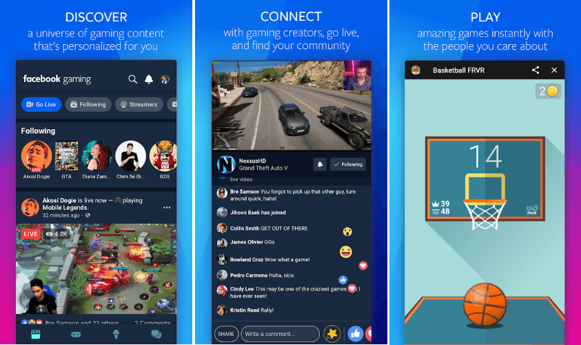 Facebook Launched 'Facebook Gaming' App On Google Play Store