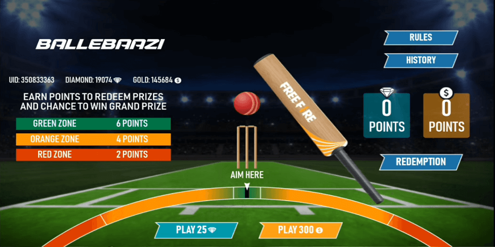 Free Fire: How To Play Ballebaazi Event To Score Points And Win Costume