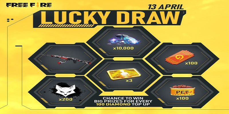 Free Fire: How To Get 'Lucky Draw' Event Tokens