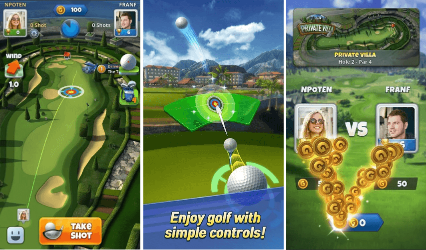 Golf Challenge - World Tour Android Pre-Registrations Started