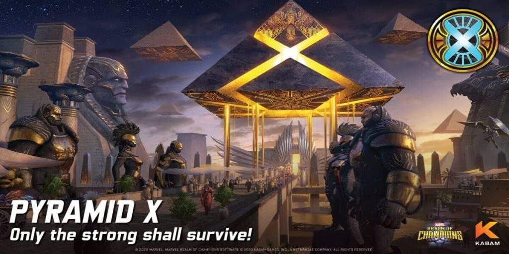 Marvel Realm Of Champions Releases Details On The Newest House 'Pyramid X'