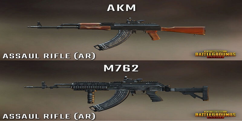 AKM vs. M762 - Which One Is Better AR In PUBG Mobile?