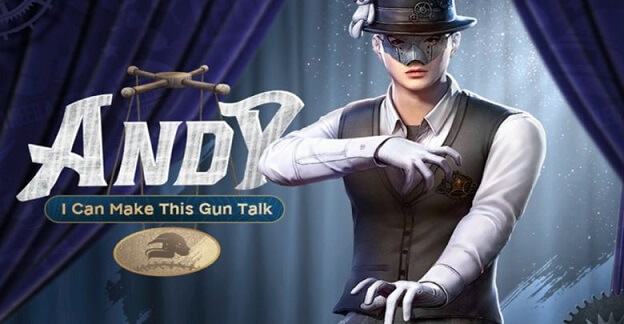 PUBG Mobile To Get A New Character 'Andy' in Season 13