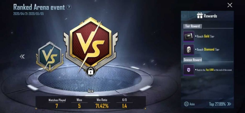 PUBG Mobile Gets a Ranked Arena Mode