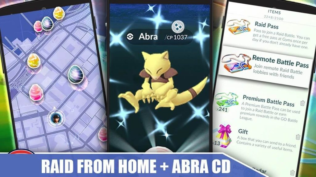 Pokemon Go Introduced Remote Raid Passes To Play It Indoors