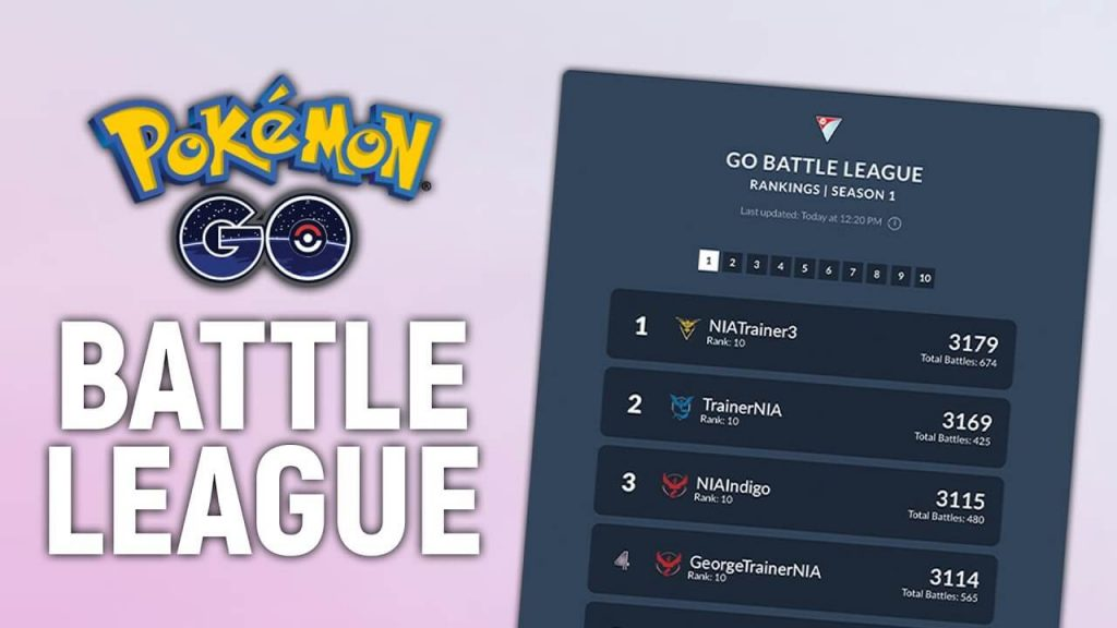 Online Leaderboards is Coming To Pokémon GO