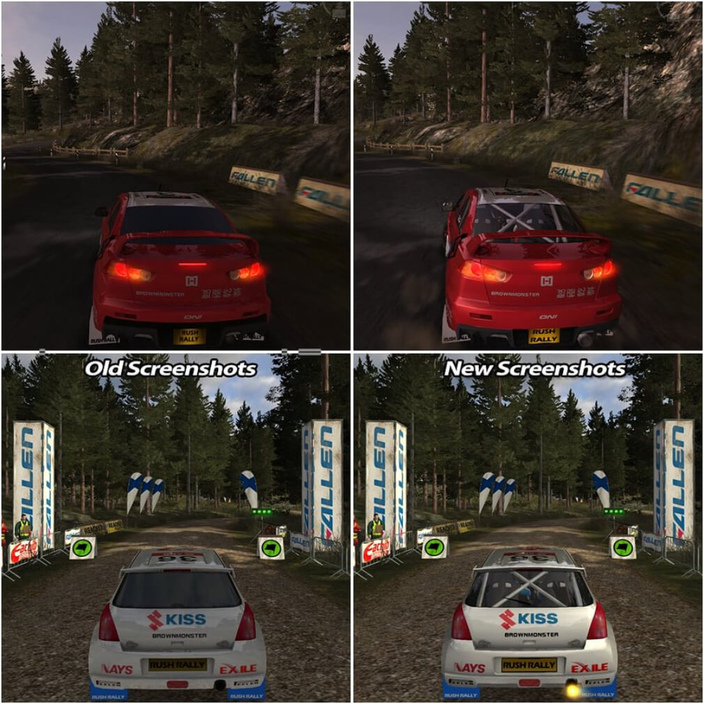 Rush Rally 3 gets a major visual update