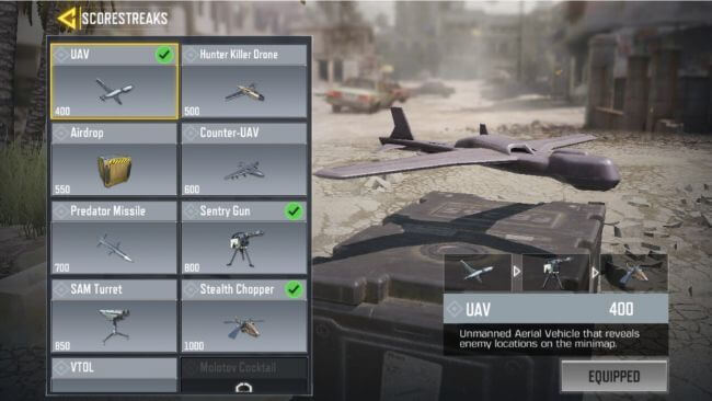 Top 5 Scorestreaks in Call Of Duty: Mobile that will give you the advantage