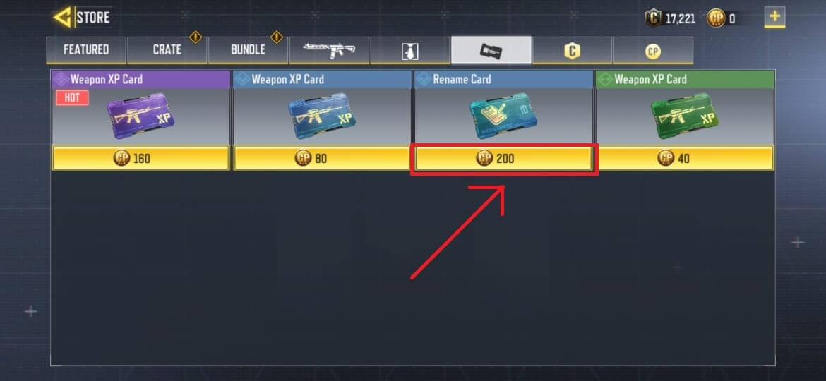 How To Get a Free Rename Card in Call of Duty Mobile