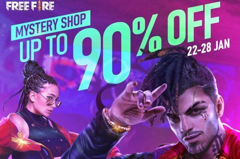 Free Fire Mystery Shop 9.0 Expected To Release On 24 May