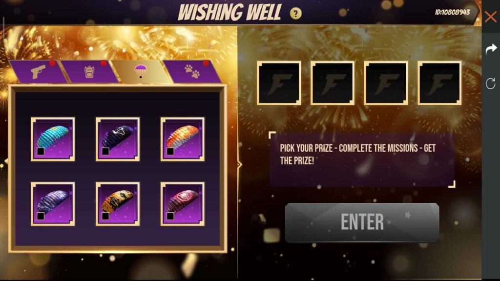Free Fire Wishing Well Event: How To Play?