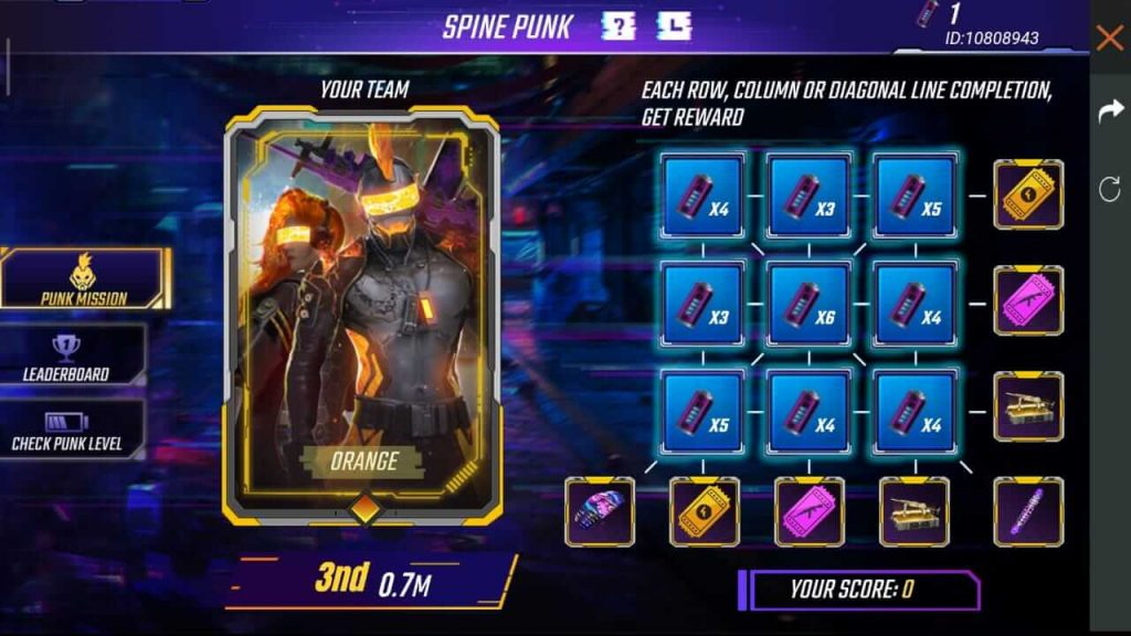 Free Fire: How To Collect 'Purple Cell' Token & Complete Let's Get Punk Event