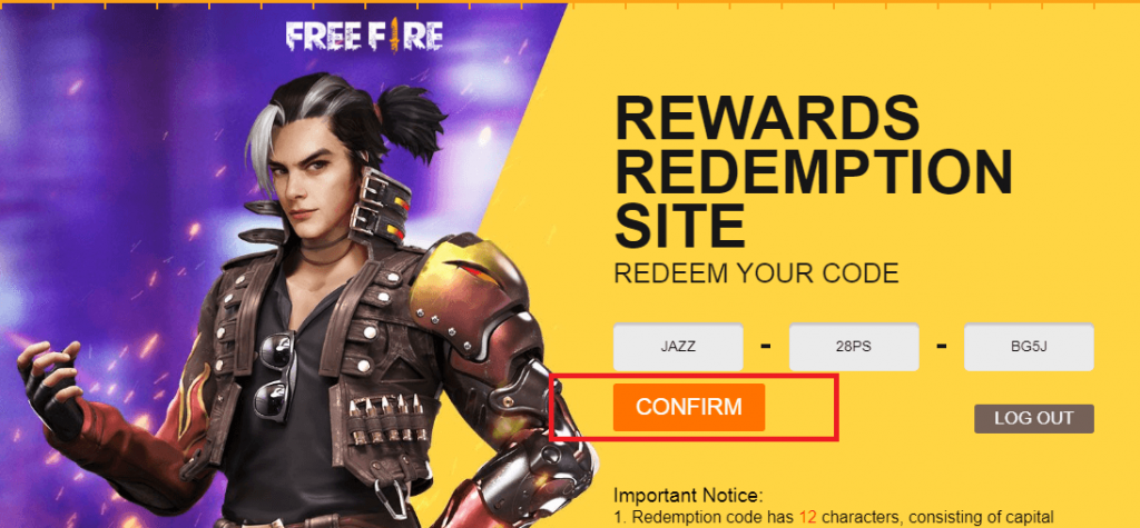 What Is Free Fire Redemption Code & How To Redeem?