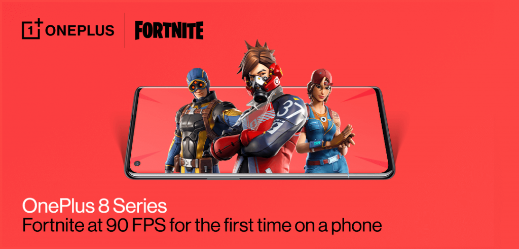 Now You Can Play Fortnite At 90 FPS On Your OnePlus 8 Series