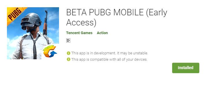 Download PUBG Mobile 0.19.0 BETA Version