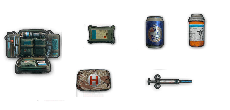 PUBG Mobile Healing Items Guide