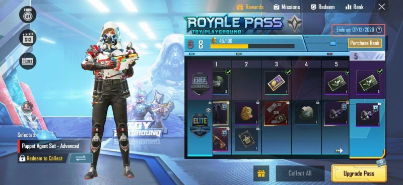 PUBG Mobile Season 14 Royale Pass 'Spark The Flame' Rewards Leaked