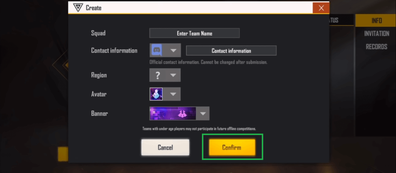 How To Register For Free Fire Battle Arena Tournament