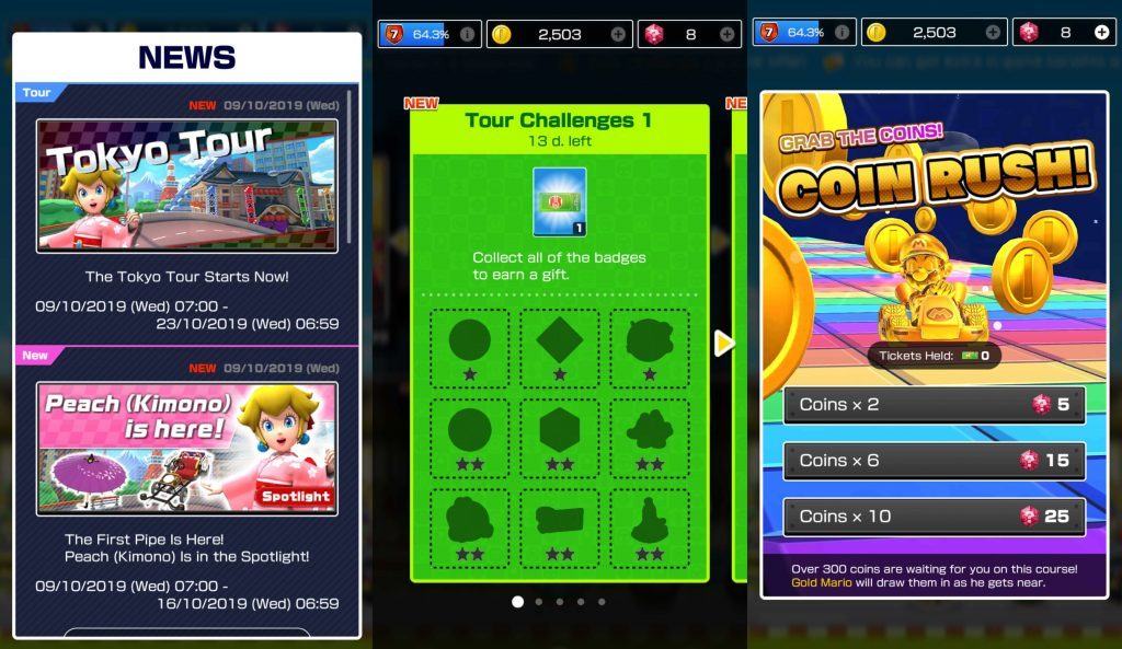 Mario Kart Tour: Latest Update brings New Features, Improves Multiplayer