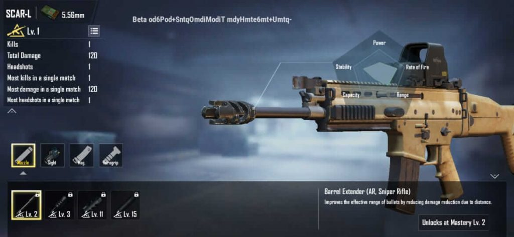 New Gun Attachment 'Barrel Extender' is Coming To PUBG Mobile Soon
