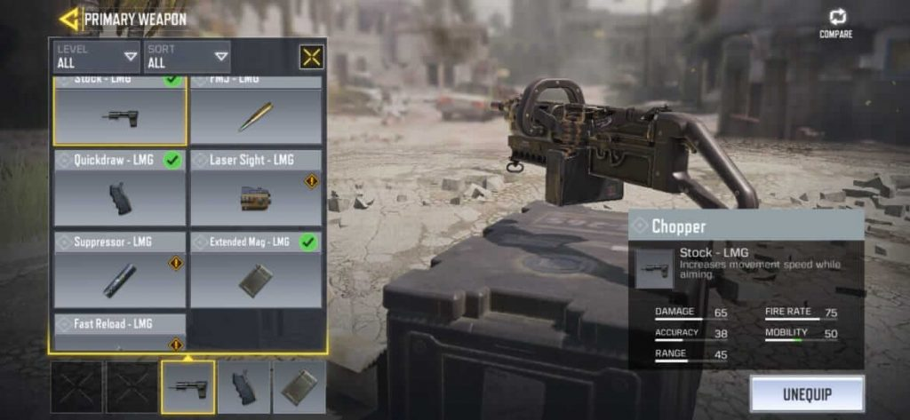 Call of Duty Mobile: How to Get New LMG 'Chopper' For  Free