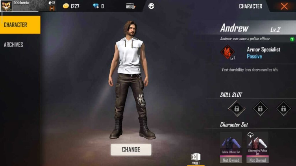 Free Fire Andrew Character: Guide, Tips & Tricks