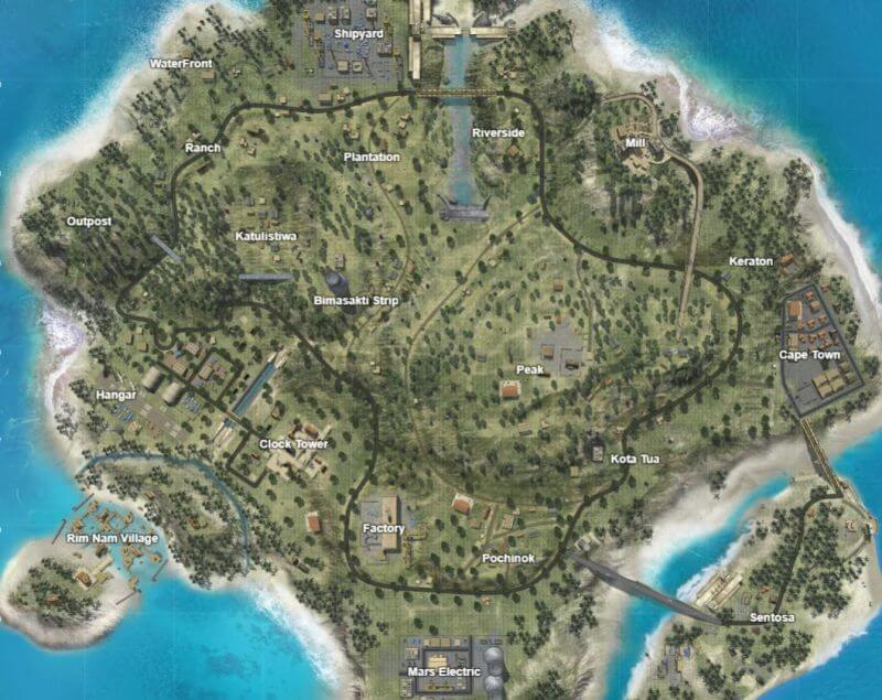 Free Fire: Bermuda Map Getting Two New Places With OB23 Update