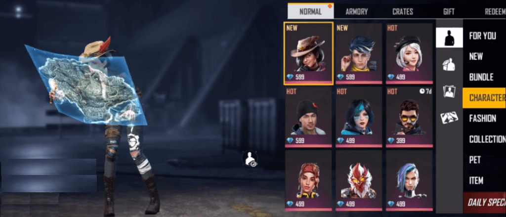 Free Fire New Character 'Evelyn' Coming With OB23 Update
